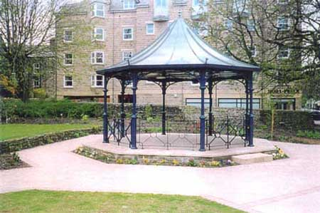 Ilkley bandstand