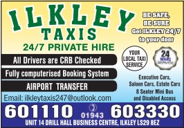 Ilkley Taxis 24/7 Private Hire
